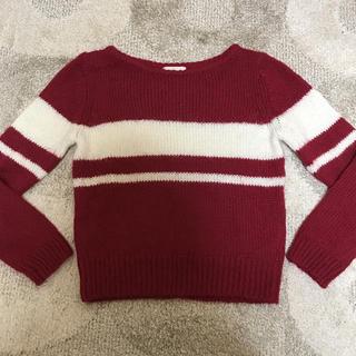 ヴィス(ViS)のVIS レディース  バイカラー セーター(ニット/セーター)