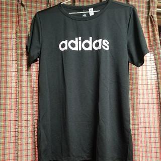 アディダス(adidas)のadidasレディースTシャツ LLサイズ(Tシャツ(半袖/袖なし))