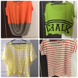 ジーユー(GU)のGU Tシャツ まとめ売り(Tシャツ(半袖/袖なし))