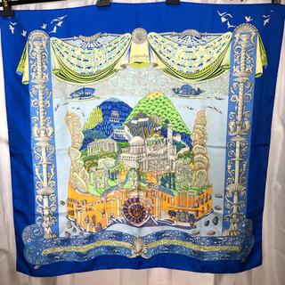 エルメス(Hermes)のHERMES エルメス スカーフ カレ 正規品(バンダナ/スカーフ)