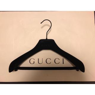 グッチ(Gucci)の新品未使用☆GUCCI☆ベルベット ハンガー(押し入れ収納/ハンガー)