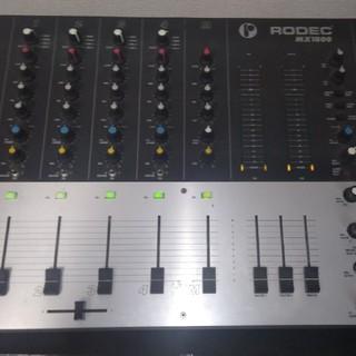 RODEC DJミキサー MX1800