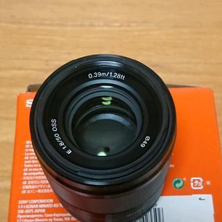 ソニー(SONY)のSony Eマウント APS-C 50mm F1.8 SEL50F18 (レンズ(単焦点))