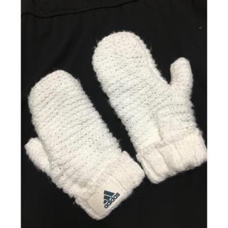アディダス(adidas)のアディダス ニット 手袋 グローブ クライマヒート(アクセサリー)