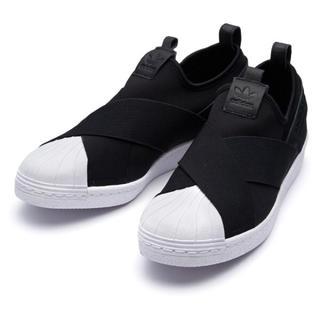 アディダス(adidas)の③《新品》adidas originalsスーパースタースリッポン 23.5cm(スリッポン/モカシン)