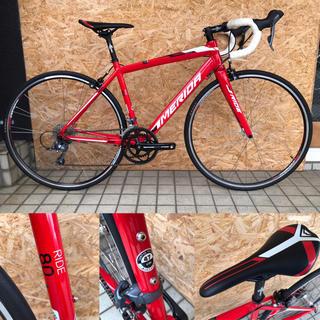 メリダ(MERIDA)のMERIDA メリダ RIDE80 カーボンフォーク ロードバイク(自転車本体)