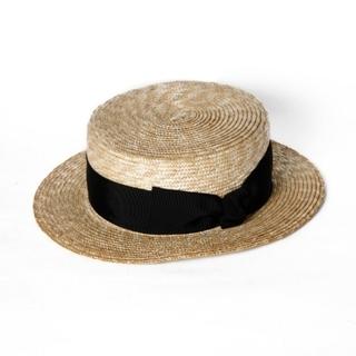 eimy istoire - エイミーイストワール boater hat ハット 麦わら帽子 カンカン帽
