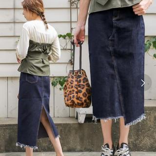 TODAYFUL - select MOCA  デニムスカート