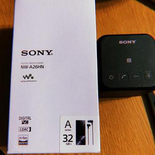 ソニー(SONY)のSONY ミュージックプレイヤー32GB ※Bluetoothスピーカー付き(ポータブルプレーヤー)