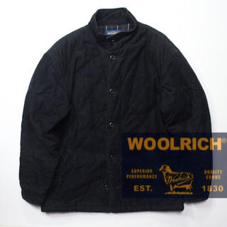 ウールリッチ(WOOLRICH)のWOOL RICH ウールリッチ コーデュロイ スタンドカラー キルティング(ブルゾン)