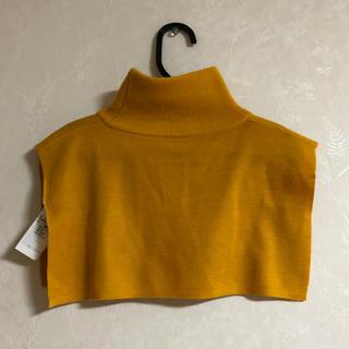 エンフォルド(ENFOLD)の2018AW ENFOLD 今季 ネックパーツ タートル ニット 付け襟 (つけ襟)