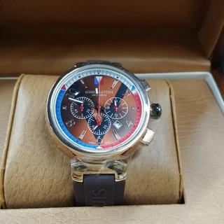 ルイヴィトン(LOUIS VUITTON)のメンズ LOUIS VUITTON ルイヴィトン 腕時計 保存箱付き 激売れ(ラバーベルト)