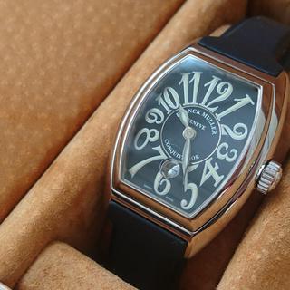 フランクミュラー(FRANCK MULLER)の【箱付き保証書付き】フランクミュラー コンキスタドール 1stモデル レディース(腕時計)