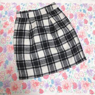 ローリーズファーム(LOWRYS FARM)のLOWRYS FARM♡ギンガムチェック スカート(ミニスカート)