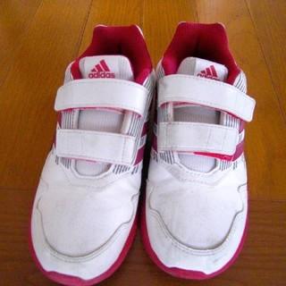 アディダス(adidas)の美品 アディダス スニーカー 19cm(スニーカー)