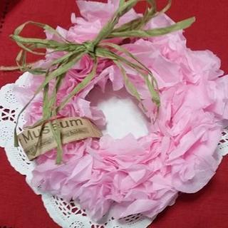 桜のリース(A)(雑貨)