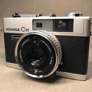 コニカミノルタ(KONICA MINOLTA)のkonica c35 フィルムカメラ コニカ(フィルムカメラ)