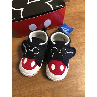 Disney - 13.5cm  ディズニー ミッキーマウス ベビーシューズ