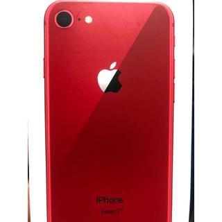 アイフォーン(iPhone)のiphone8 Red(スマートフォン本体)