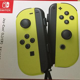 ニンテンドースイッチ(Nintendo Switch)のtaikil様専用 Joy-Con イエロー(家庭用ゲーム本体)
