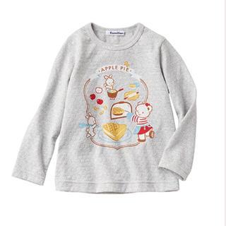 familiar - familiar✴︎長袖Tシャツ90
