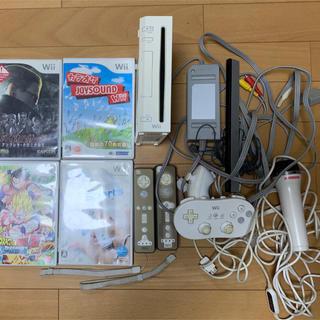 ウィー(Wii)のwii 本体 動作確認済み(家庭用ゲーム本体)