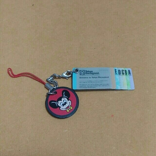 ディズニー(Disney)のTDR25周年 復刻版チケット型ストラップ(ストラップ/イヤホンジャック)