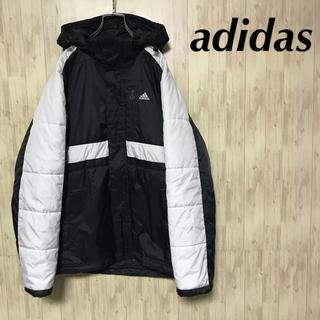 アディダス(adidas)の美品 adidas ブルゾン 刺繍 パフォーマンスロゴ 中綿入り(ブルゾン)