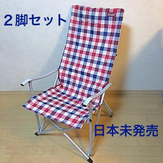 コールマン(Coleman)の新品 送料込】日本未発売 Coleman デラックスリラックスチェア 2脚セット(テーブル/チェア)