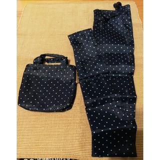 傘袋 紺×ドット(傘)