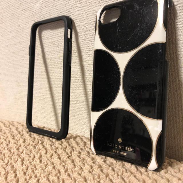 iphone x ケース iphone xs | kate spade new york - 使用済、iPhone6s.7カバーの通販 by 姉妹ショップ|ケイトスペードニューヨークならラクマ
