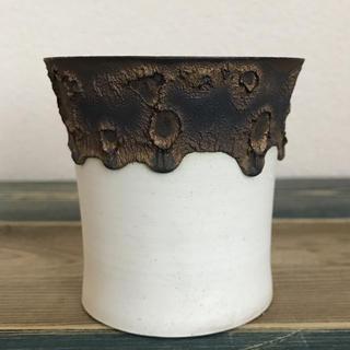 たけろうポット ハクガネ(花瓶)