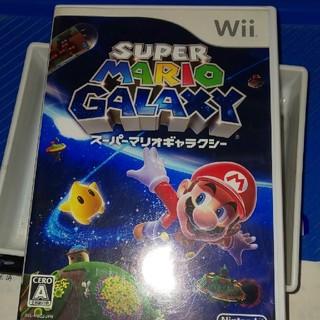 ウィー(Wii)のwiiスーパーマリオギャラクシー(家庭用ゲームソフト)