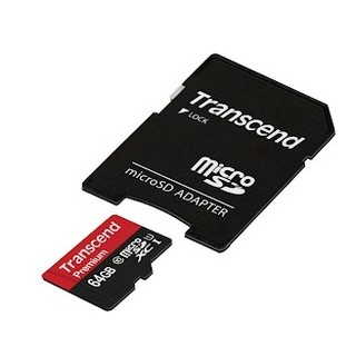 トランセンド(Transcend)の♫安心品質♫Transcend microSDXCカード 64GB(PC周辺機器)