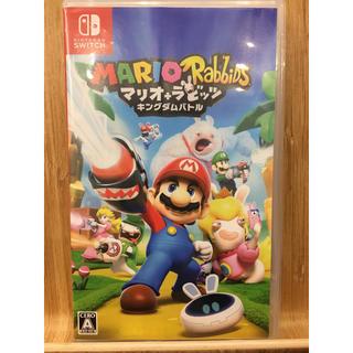 Nintendo Switch - 中古 マリオ+ラビッツ キングダムバトル ニンテンドースイッチ switch