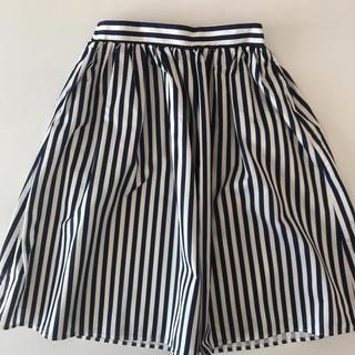 テチチ(Techichi)のテチチほぼ新品*ストライプスカート(ひざ丈スカート)