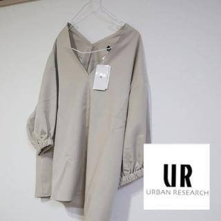 URBAN RESEARCH - 新品 アーバンリサーチ ツイルVネックトップス