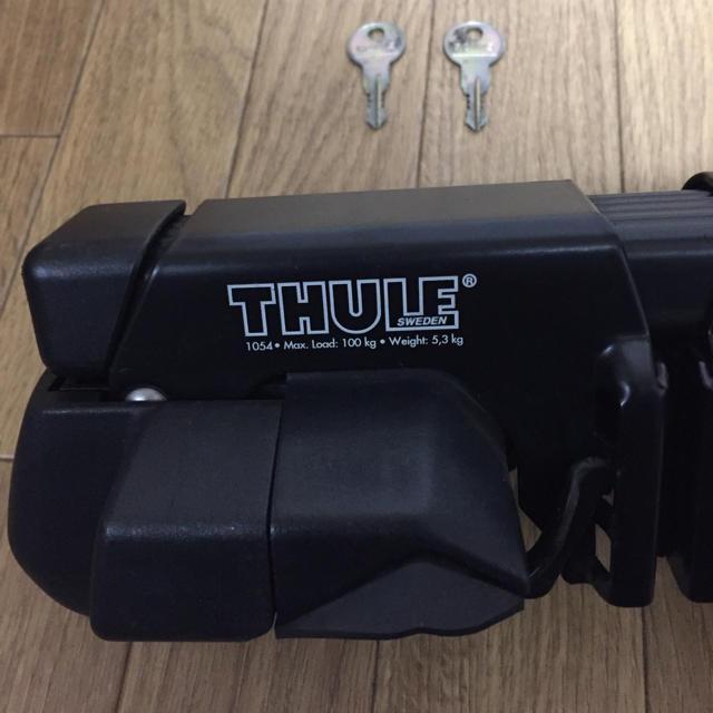 THULE(スーリー)のTHULE スーリー ベースキャリア フット スクエアバーセット 自動車/バイクの自動車(車外アクセサリ)の商品写真