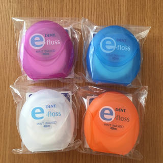 フィリップス(PHILIPS)の新品未使用 DENT. e-floss イーフロス 4個セット(歯ブラシ/デンタルフロス)