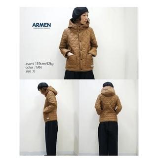 アーメン(ARMEN)のARMEN (アーメン)キルティングジャケット (未使用)(ダウンコート)