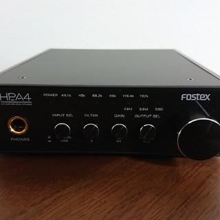 FOSTEX社「DAC & ヘッドホンアンプ HP-A4」(その他)