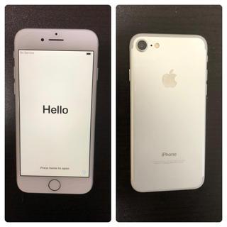 アイフォーン(iPhone)のiPhone7 32GB シルバー(携帯電話本体)