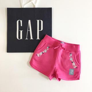 ベビーギャップ(babyGAP)の新品♡baby gap♡ショートパンツ 刺繍 ショーパン/ネクスト ザラベビー(パンツ/スパッツ)