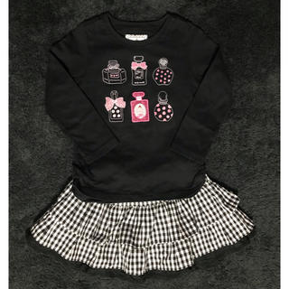 mikihouse - ミキハウス リーナちゃんTシャツ100cm&  スカートS 2点セット