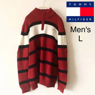 トミーヒルフィガー(TOMMY HILFIGER)のニット セーター トミーヒルフィガー tommy hilfiger ボーダー(ニット/セーター)