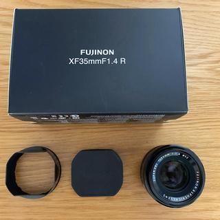フジフイルム(富士フイルム)のXF35mm F1.4 保護フィルター付き(レンズ(単焦点))