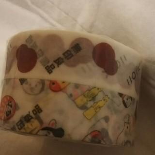 ムジルシリョウヒン(MUJI (無印良品))の無印良品 未使用 2018 福缶 マスキングテープ (テープ/マスキングテープ)