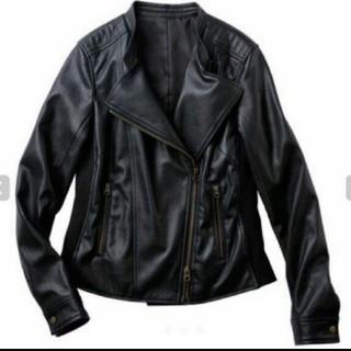 5L ライダースジャケット ブラック(ライダースジャケット)