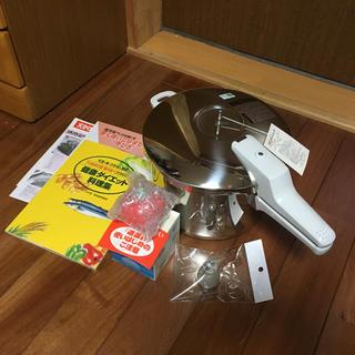 アサヒケイキンゾク(アサヒ軽金属)の活力鍋 活力なべ 圧力鍋 圧力なべ IH不可 5.5L アサヒ軽金属 料理本付き(調理機器)