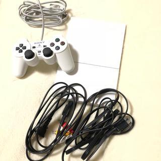 PS2 ホワイト 本体(家庭用ゲーム本体)